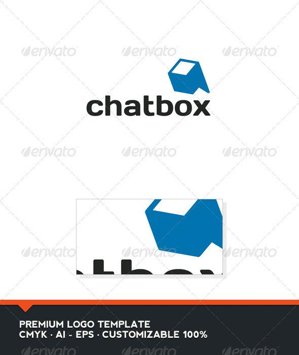 GraphicRiver Chat Box Logo Template 3310293