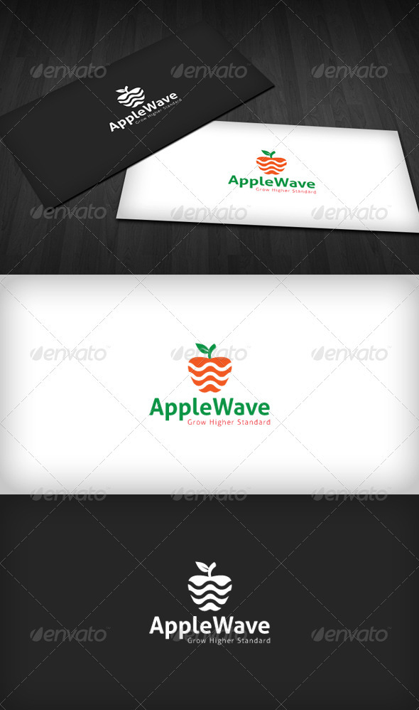 GraphicRiver Apple Wave Logo 3310303