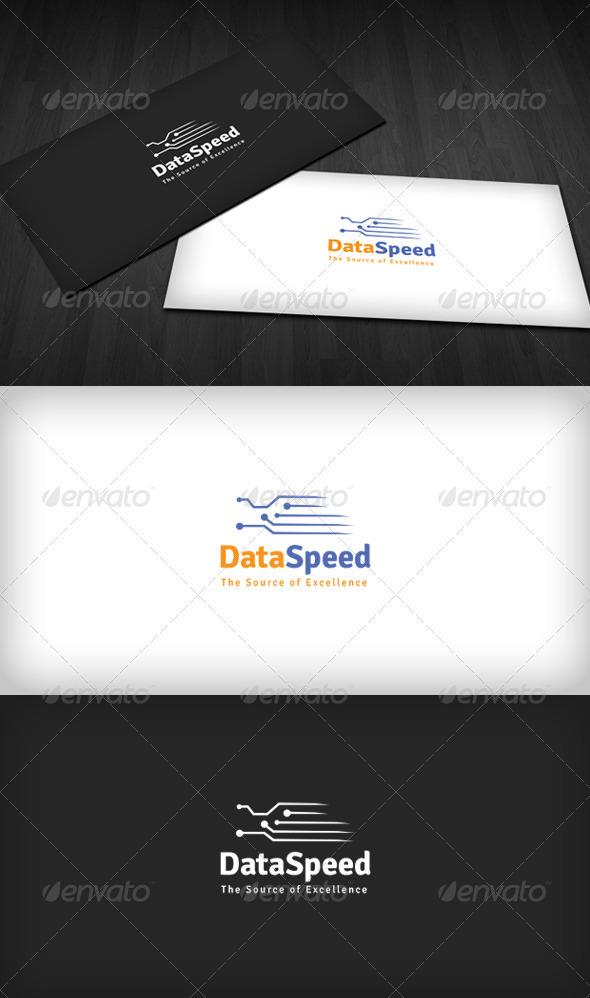 GraphicRiver Data Speed Logo 3310323