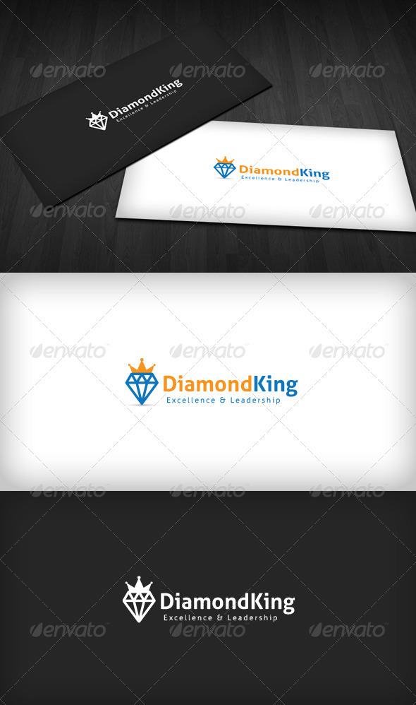 GraphicRiver Diamond King Logo 3310326