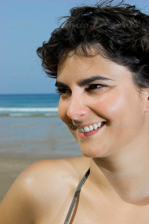 Laughing Woman - Stock Photo - Images