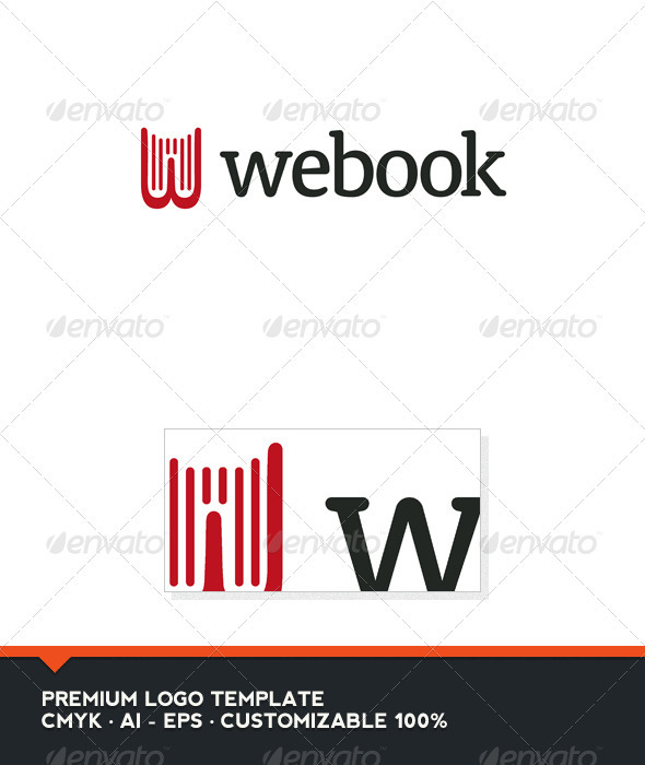 GraphicRiver Webook Logo Template 3310466