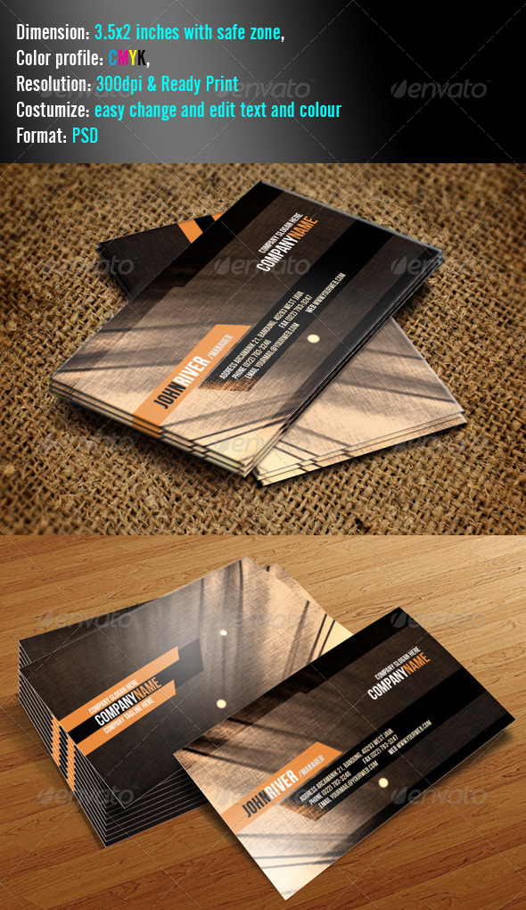Simple 4 Clean - Grunge Business Cards