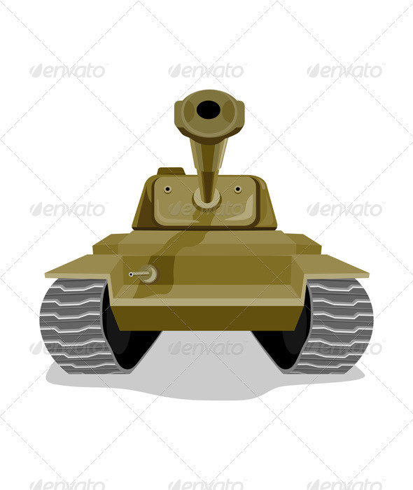 GraphicRiver World War Two Battle Tank 3310498