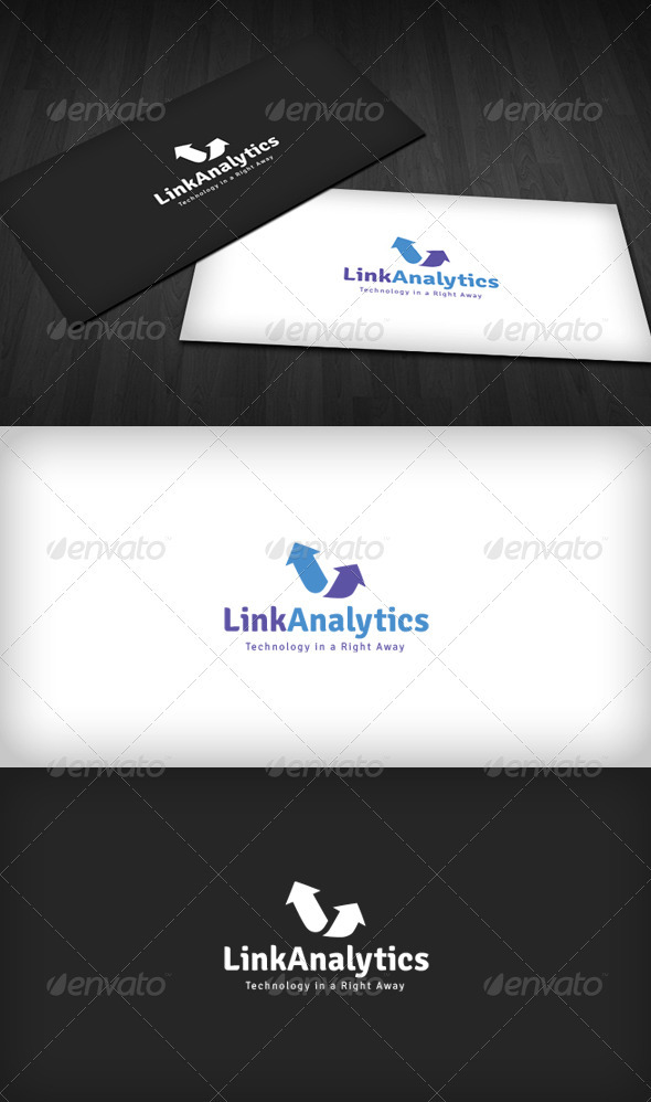 GraphicRiver Link Analytics Logo 3310513