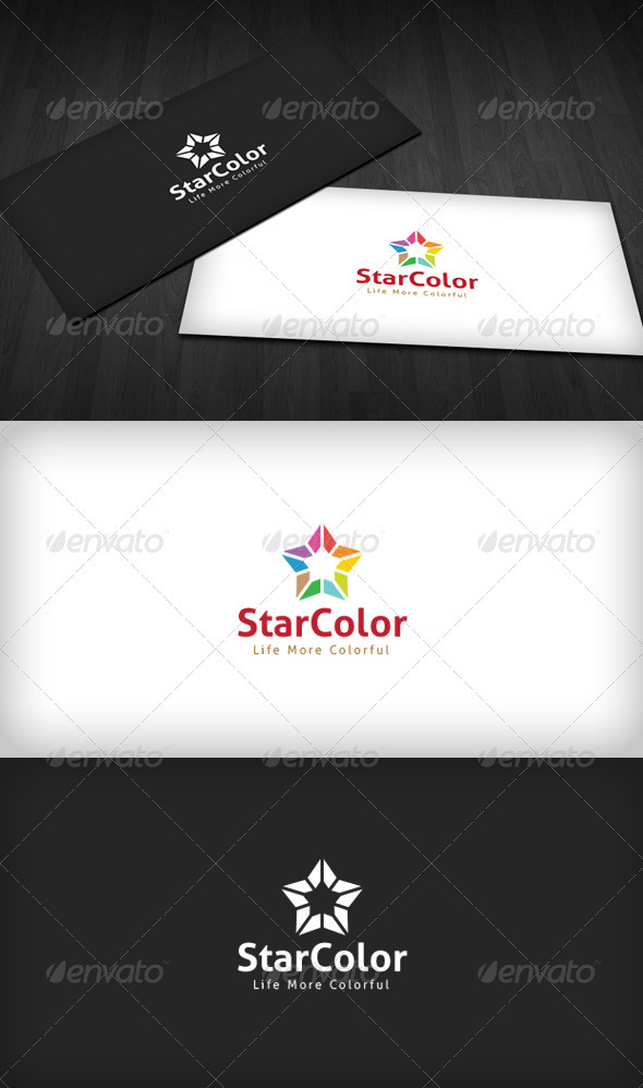 GraphicRiver Star Color Logo 3310516