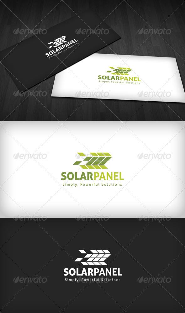 GraphicRiver Solar Panel Logo 3310518