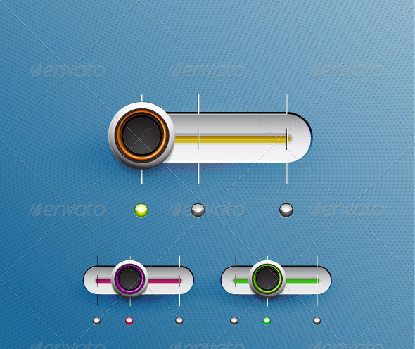 GraphicRiver Technology Vector Sliders 3310585