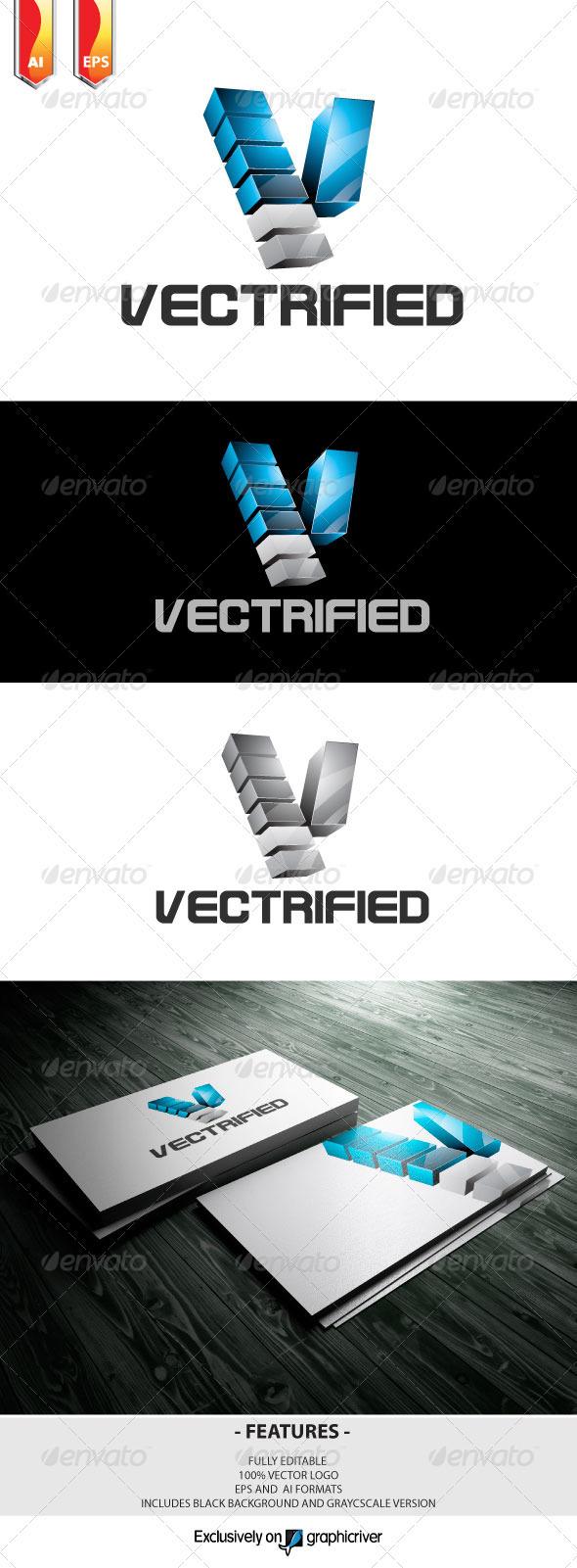 GraphicRiver Vectrified Logo 3227124