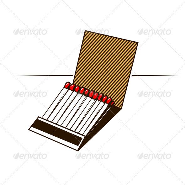 GraphicRiver Matches Box 3311314