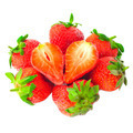 Fresh strawberry on a white background - PhotoDune Item for Sale
