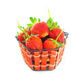 Strawberries in a basket - PhotoDune Item for Sale