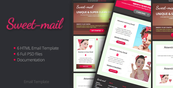 Sweet Email Template