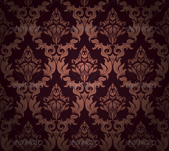 GraphicRiver Damask Seamless Pattern 3311831