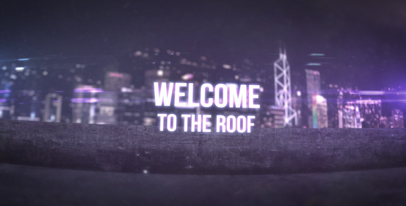 VideoHive Welcome To The Roof 3300010