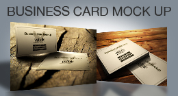 BUSINESS CARD MOCK UP SET