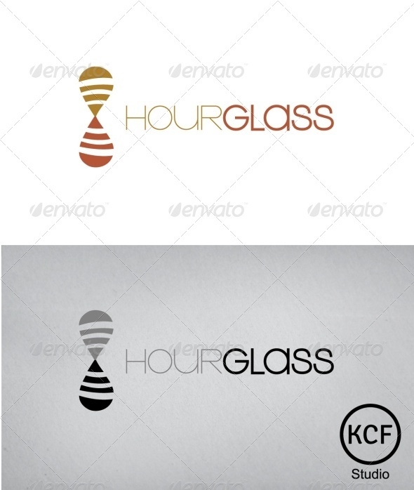 GraphicRiver HourGlass Logo Design 3295655