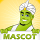Genie Mascot - GraphicRiver Item for Sale