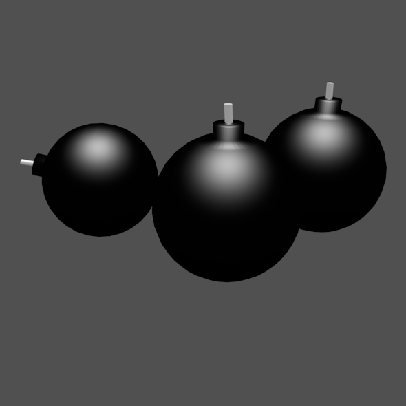 Simple Bomb - 3DOcean Item for Sale