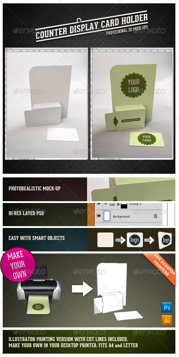 GraphicRiver Bussiness Card Display 3313718
