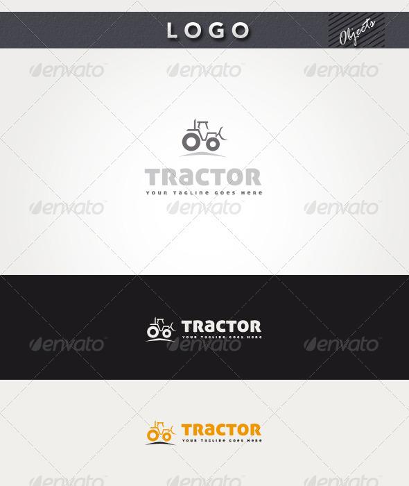 GraphicRiver Tractor Logo 3314940