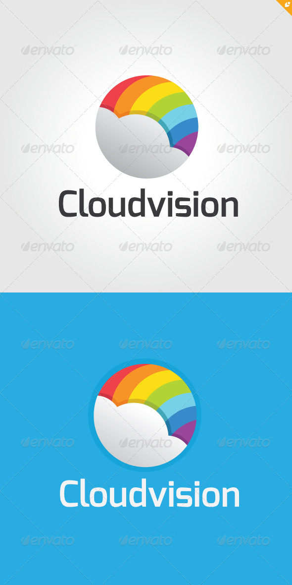 GraphicRiver Cloud Vision Logo 3314978