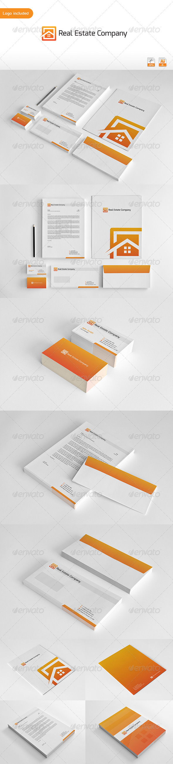 GraphicRiver Real Estate Corporate Identity 3315541