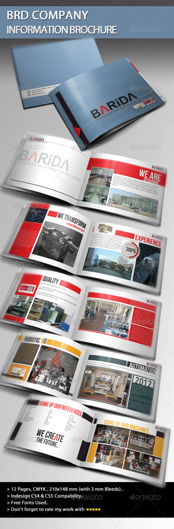 BRD Company Information Brochure - Informational Brochures