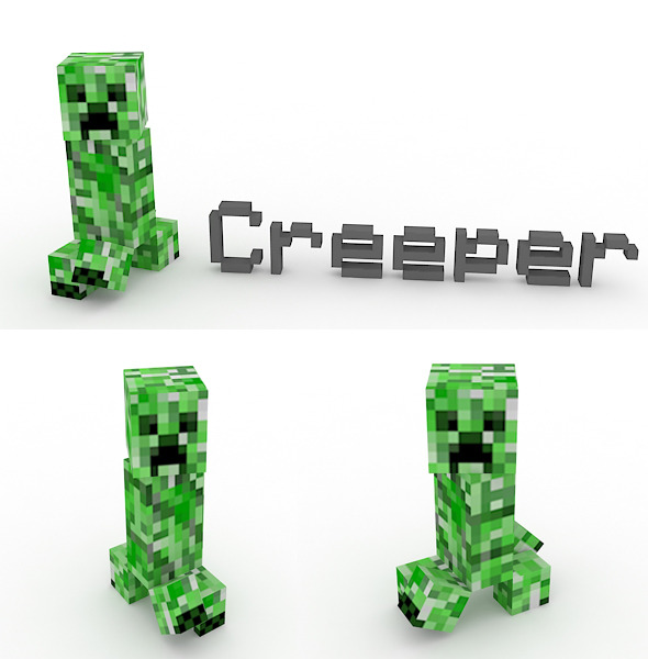 Creeper - 3DOcean Item for Sale