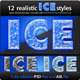 Realistic Ice Styles - GraphicRiver Item for Sale
