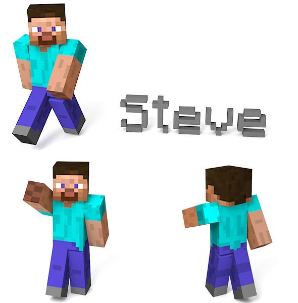 Steve - 3DOcean Item for Sale