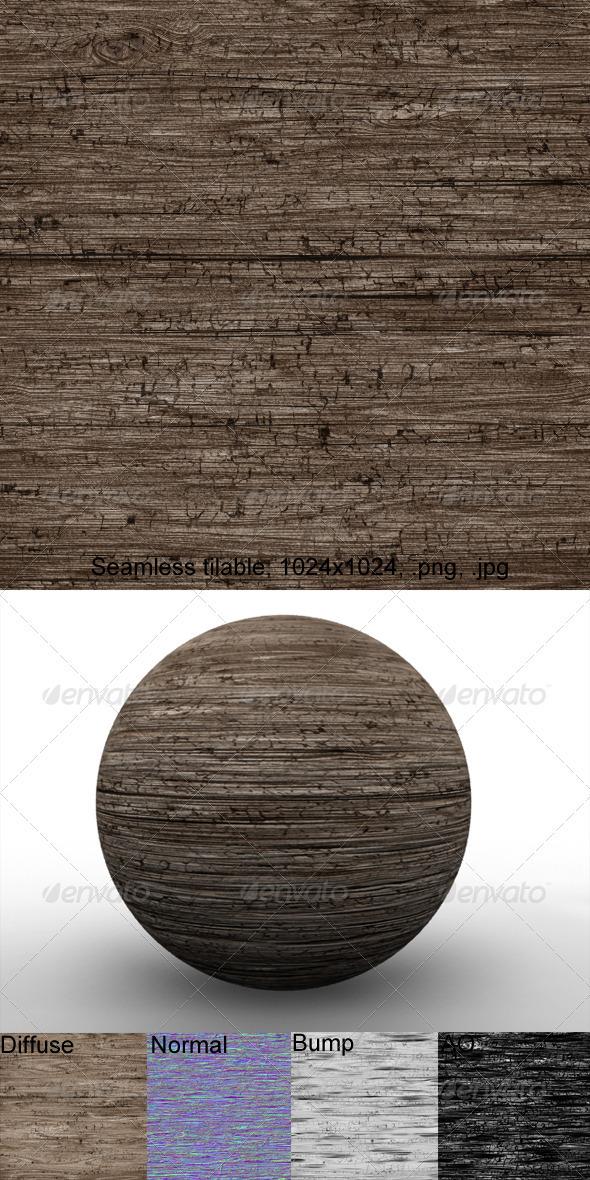 Rough Wood 3 - 3DOcean Item for Sale