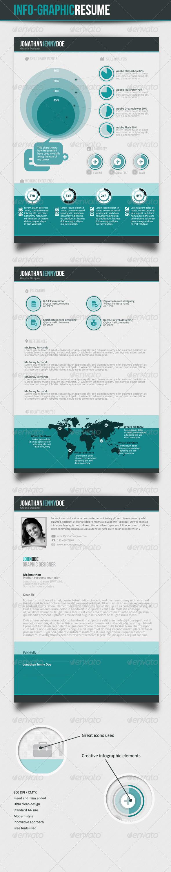 GraphicRiver Info-graphic Resume V-II 3316976