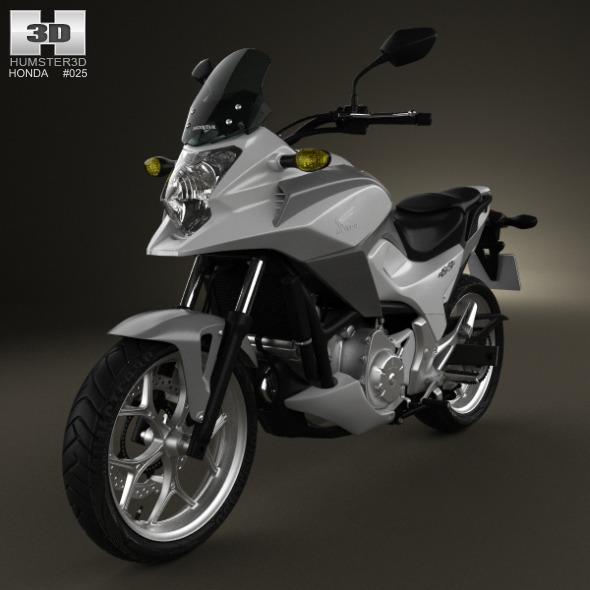 3DOcean Honda NC700X 2012 3317030