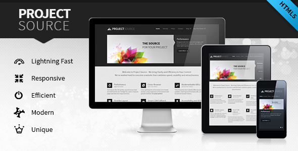 Project Source: Corporate HTML5 Responsive Website - Corporate Site Templates