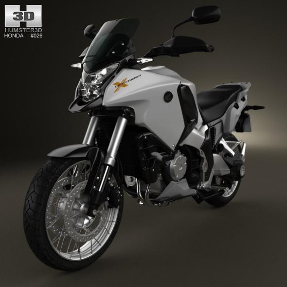 3DOcean Honda VFR1200X 2012 3317048