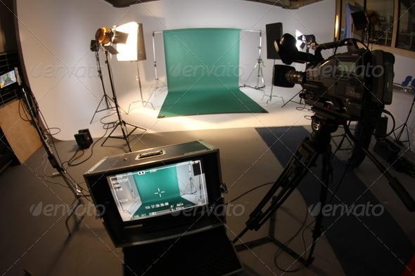 PhotoDune Film Studio Green Screen 2190106