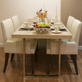 Side view of Top wood Dining Table - PhotoDune Item for Sale