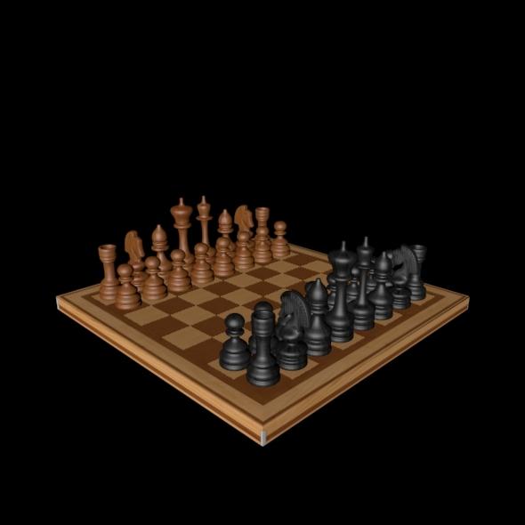 3DOcean Chess Board 3317742