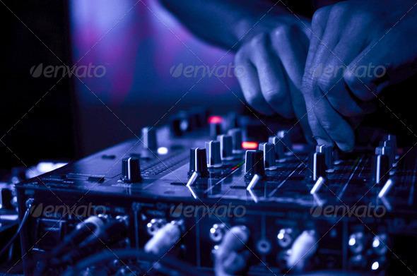 PhotoDune DJ Music night club 2191631