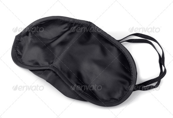 Sleep mask - Stock Photo - Images