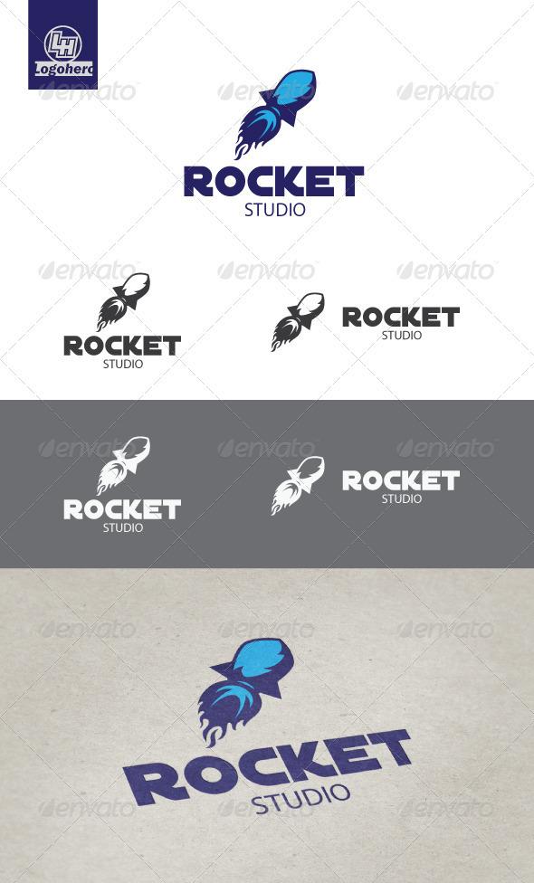 GraphicRiver Rocket Studio Logo Template 3317958