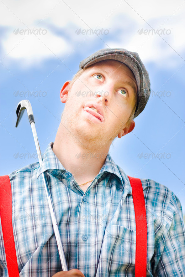 Mad About Golf - Stock Photo - Images