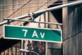 Street Sign in Manhattan