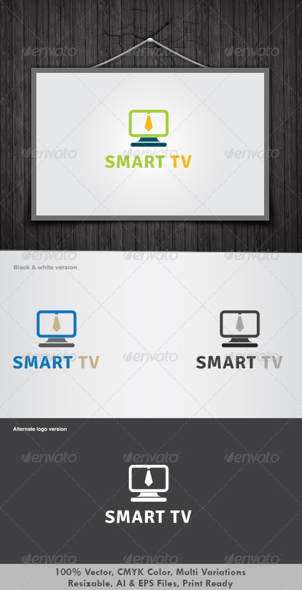 GraphicRiver Smart Tv Logo 3318411