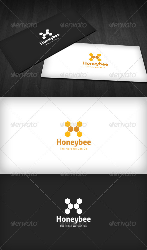 GraphicRiver Honeybee Logo 3318749