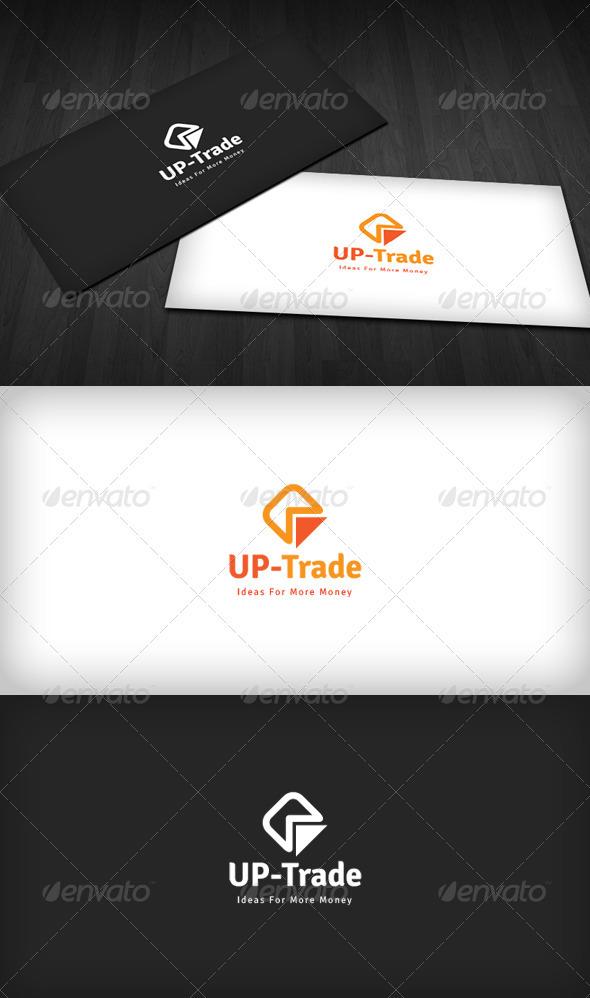 GraphicRiver UP Trade Logo 3318758