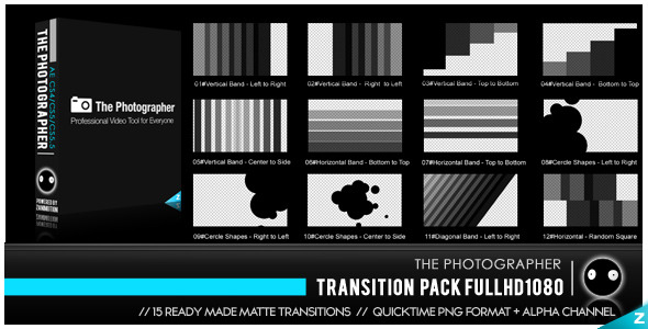 Photographer Transition Pack