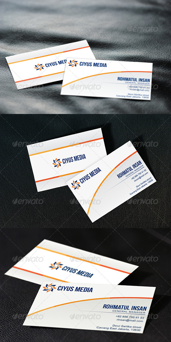 GraphicRiver Ciyus Business Cards 3286124