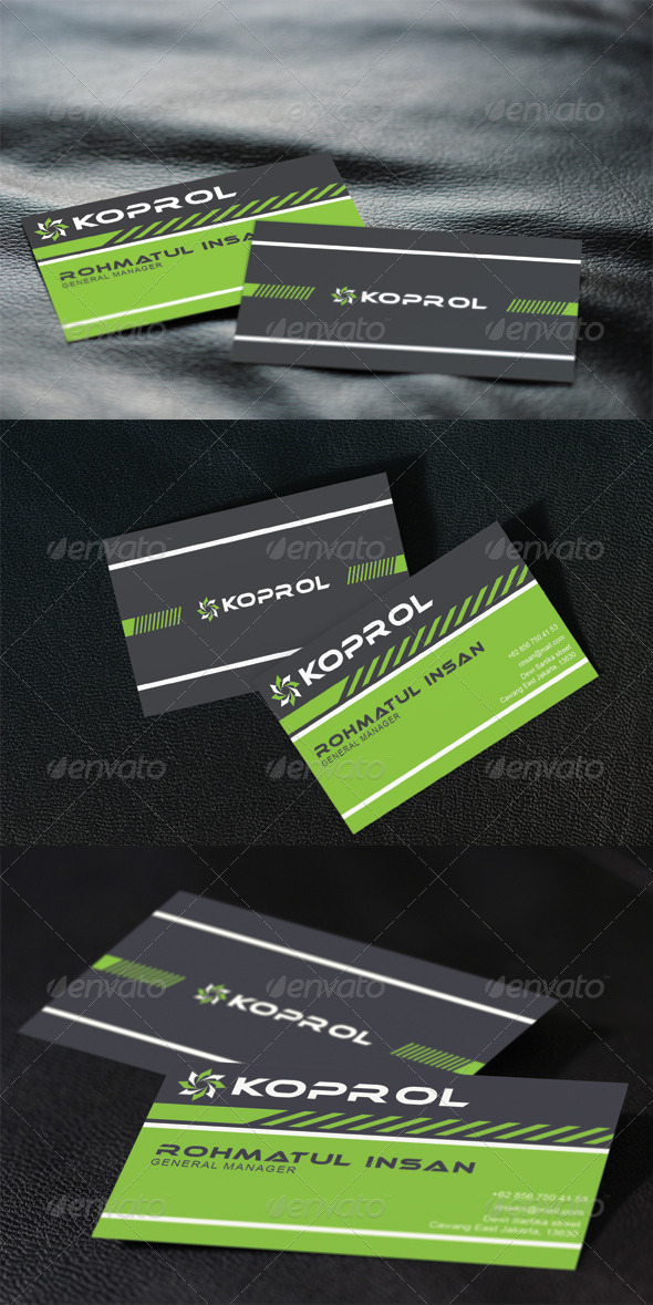 GraphicRiver Koprol Business Cards 3286149